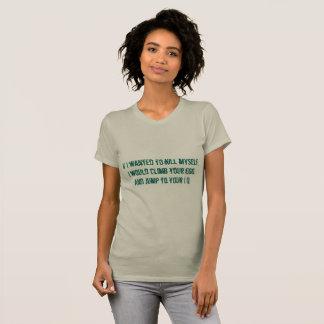 Camiseta Ego ao I.Q.