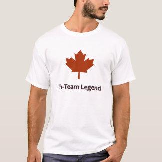 Camiseta Eh legenda da equipe