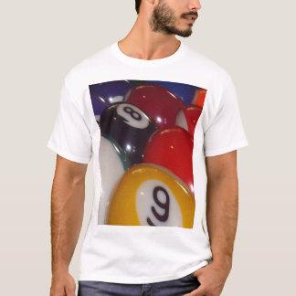 Camiseta Eightball as bolas coloridas tradicionais,