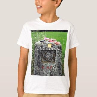 Camiseta EL Camino: Marcador 86 quilômetros, espanha