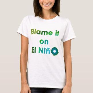 Camiseta EL Nino da culpa