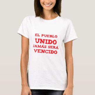 Camiseta El pueblo Unido, jamas sera vencido