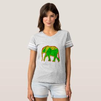 Camiseta Elefante africano pequeno