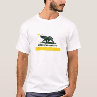 Camiseta Elefante (claro) 2 da bandeira do estado de