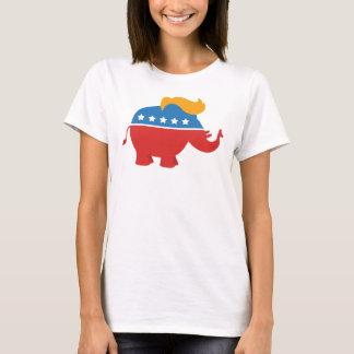 Camiseta Elefante do GOP do trunfo