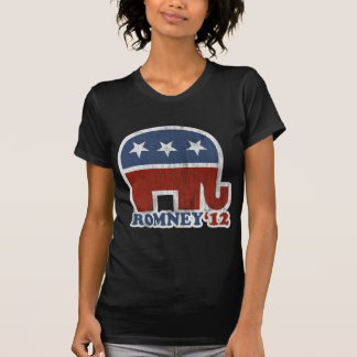Camiseta Elefante do republicano de Mitt Romney 2012