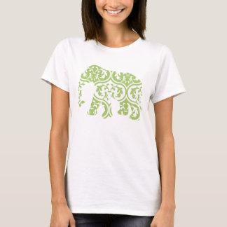 Camiseta Elefante marroquino verde