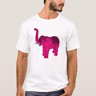 Camiseta Elefantes cor-de-rosa