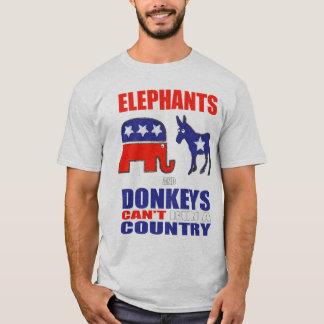 Camiseta Elefantes e asnos