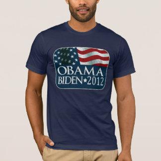Camiseta Eleição 2012 de Obama Biden afligida
