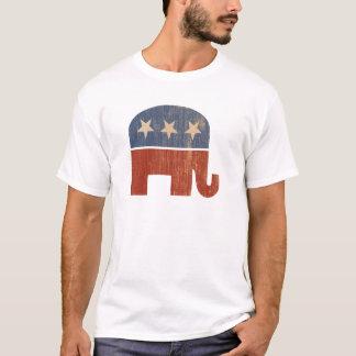 Camiseta Eleição 2012 republicana do elefante