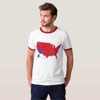 Camiseta Eleição 2016 presidencial pelo condado