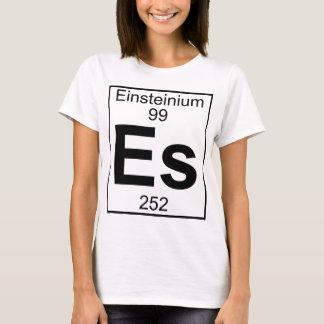 Camiseta Elemento 099 - Es - Einsteinio (cheio)
