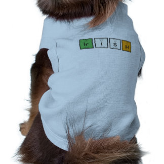 Camiseta Elementos químicos irlandeses Zy4ra