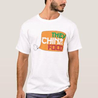 Camiseta Eles comida de China