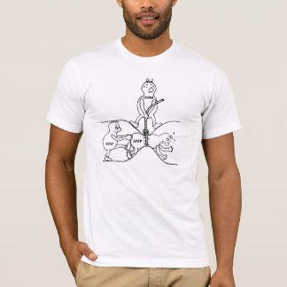 Camiseta elétrica Lei de Ohm