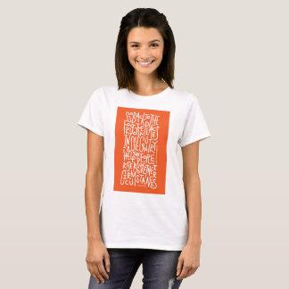 Camiseta Elevação acima de seu t-shirt das circunstâncias
