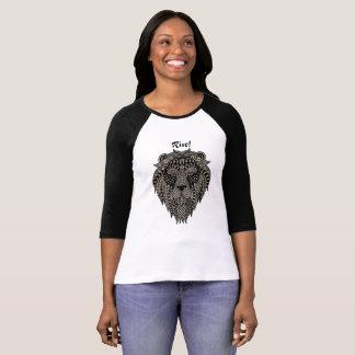 Camiseta Elevação como o design 7 dos leões