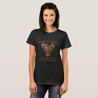 Camiseta Elevação do pássaro de Phoenix do t-shirt das