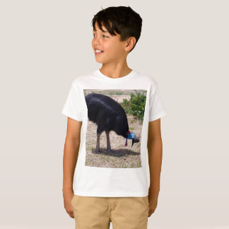 Camiseta Eliminador do inseto do pássaro do Cassowary,