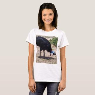 Camiseta Eliminador do inseto do pássaro do Cassowary,