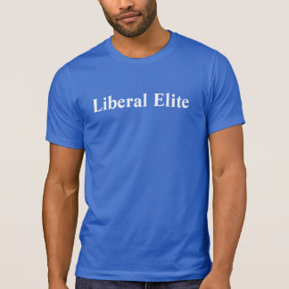 Camiseta Elite liberal personalizada