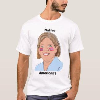 Camiseta Elizabeth Warren - nativo americano?