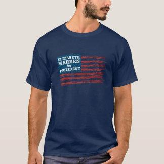 Camiseta Elizabeth Warren para o presidente