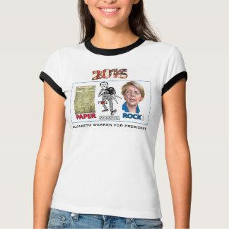 Camiseta Elizabeth Warren para o presidente 2016