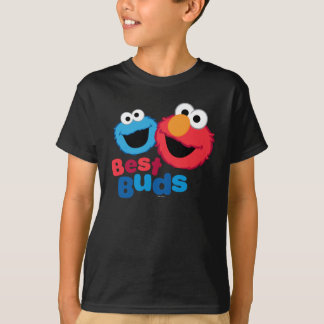Camiseta Elmo e biscoito Besties