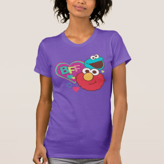 Camiseta Elmo & monstro do biscoito - BFF