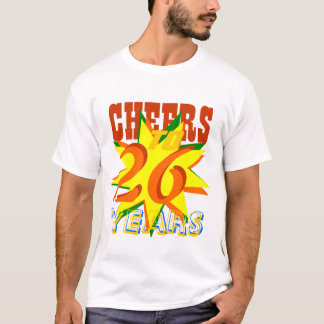 Camiseta Elogios a 26 anos