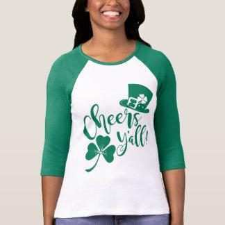 Camiseta Elogios você equipe irlandesa do bebendo do Dia de