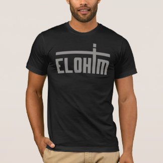 Camiseta Elohim Cruz Cinzento TRANS PNG