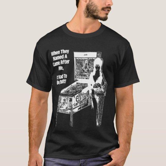 Camiseta elvira negative