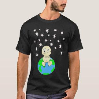 Camiseta Em algum lugar para fora lá