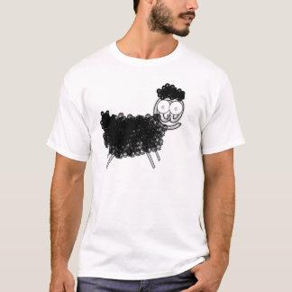 Camiseta em carneiros