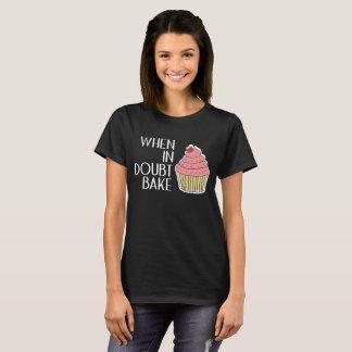 Camiseta Em caso de dúvida cozinheiro chefe de Foodie do