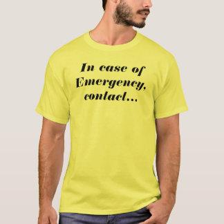 Camiseta Em caso de urgência, contacte meus amigos Offroad