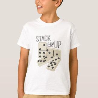 Camiseta Em da pilha acima