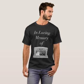 Camiseta Em memória Loving do t-shirt do Ep 9 da mostra de