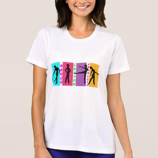 Camiseta em microfibra feminina Dança louvor e...
