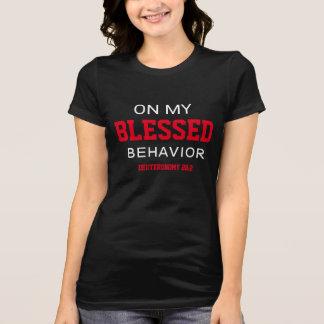 Camiseta Em minhas mulheres abençoadas do comportamento