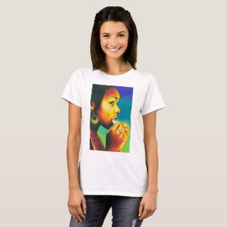 Camiseta em o tempo de Eddie Monte tomar o t-shirt de Meds
