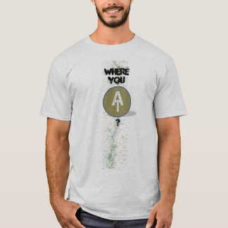 Camiseta Em onde você
