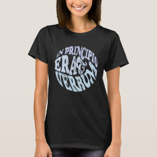 Camiseta Em Principio Erat Verbum