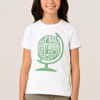 Camiseta Em toda parte