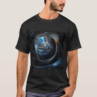 Camiseta Em todo o mundo arte abstracta