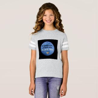 Camiseta Em um mundo perfeito… nós seríamos alergia livre