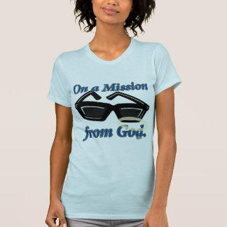 Camiseta Em uma missão do deus
